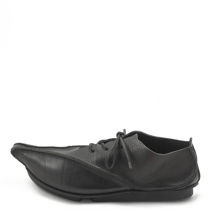 Trippen, Boost m Penna Men's Lace-up Shoes, black Größe 45