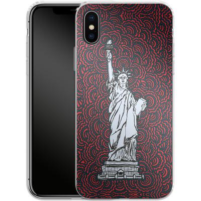 Apple iPhone X Silikon Handyhuelle - Liberty von Kaitlyn Parker