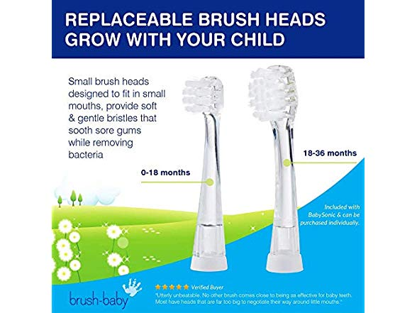 Brush Baby Infant And Toddler Toothbrush