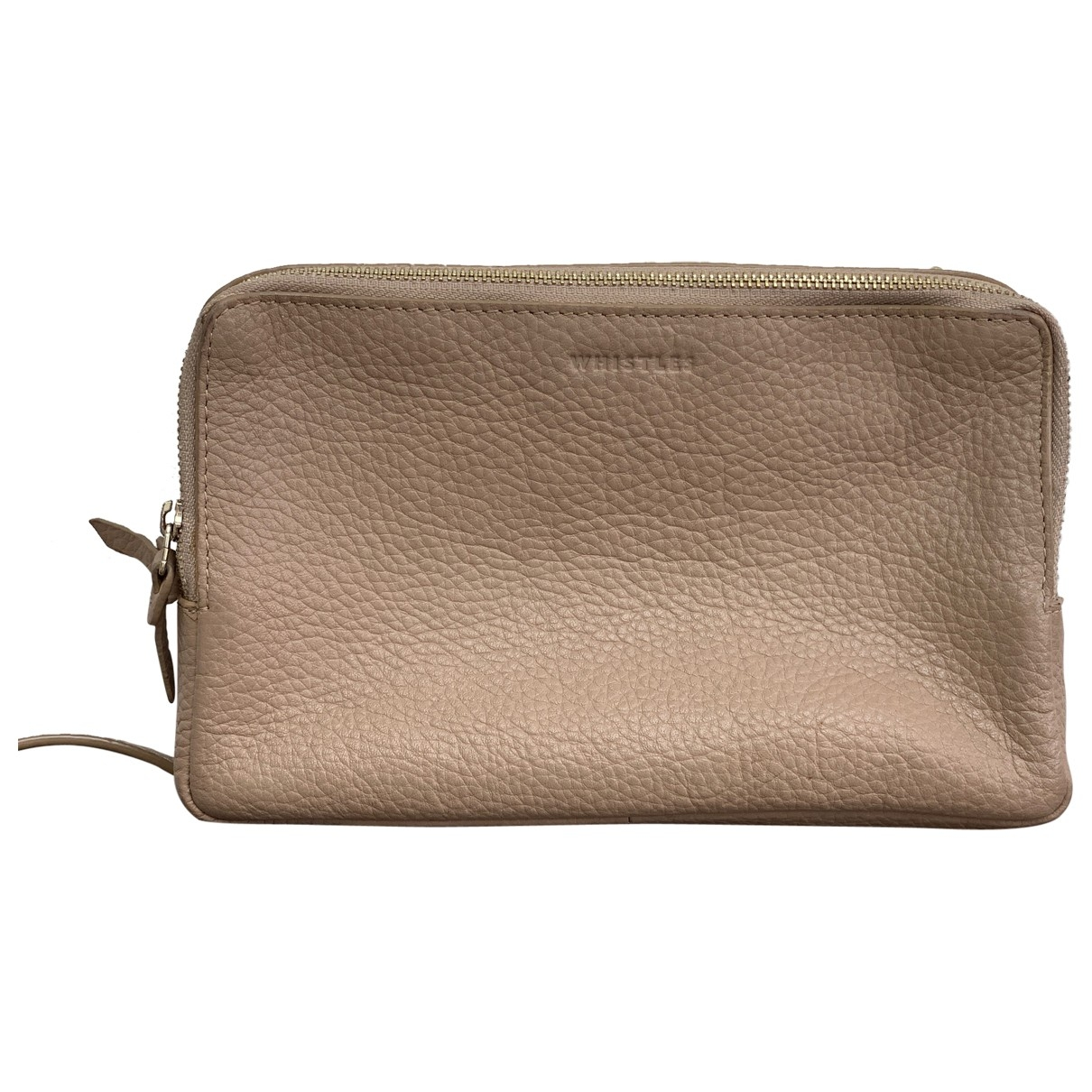 Whistles \N Beige Leather handbag for Women \N
