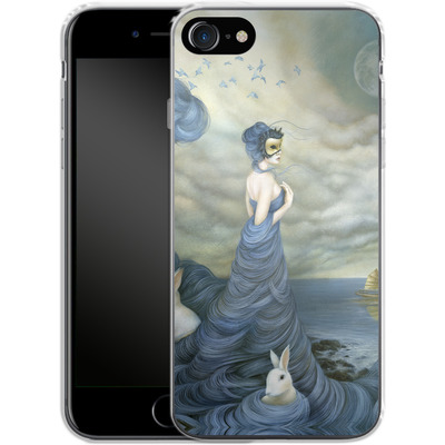 Apple iPhone 7 Silikon Handyhuelle - Where Time Beckons the Wicked von Dan May