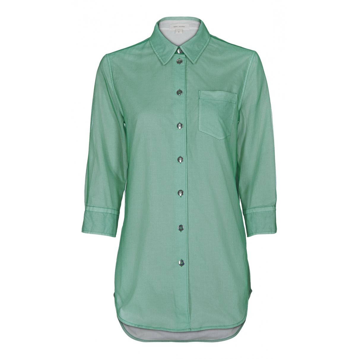 Marc Jacobs - Top   pour femme en coton - vert