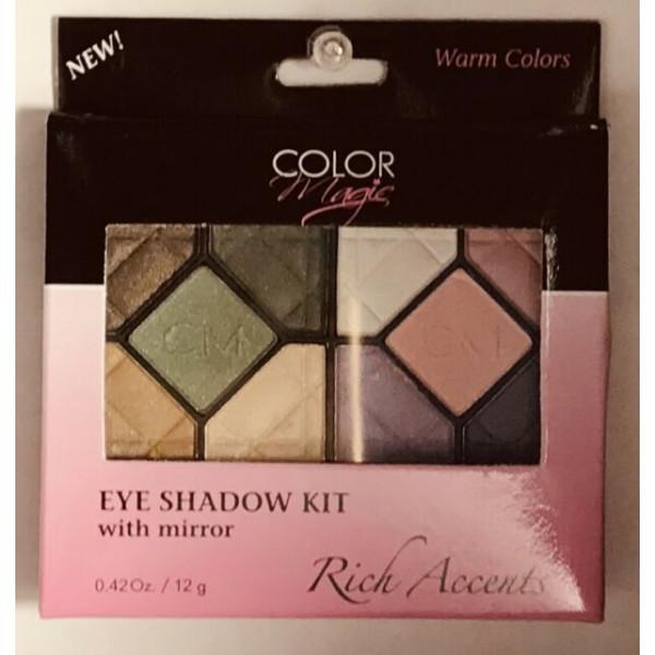 Eye Shadow Warm Colors - Color Magic 30 ml