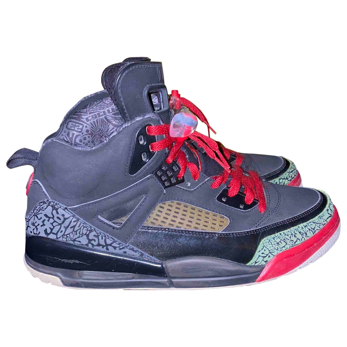 Jordan - Baskets   pour homme en cuir - noir