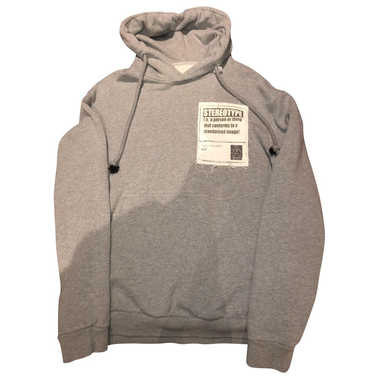 Maison Martin Margiela \N Grey Cotton Knitwear & Sweatshirts for Men S International
