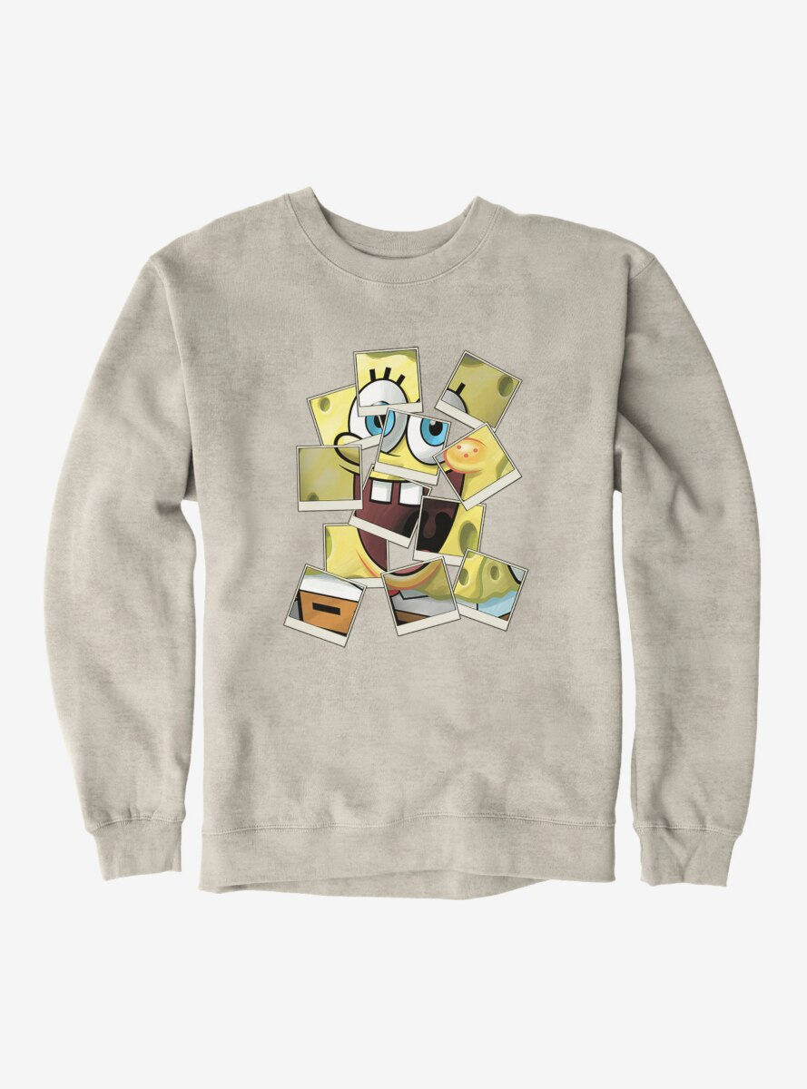 SpongeBob SquarePants Polaroid Photo Comp Sweatshirt