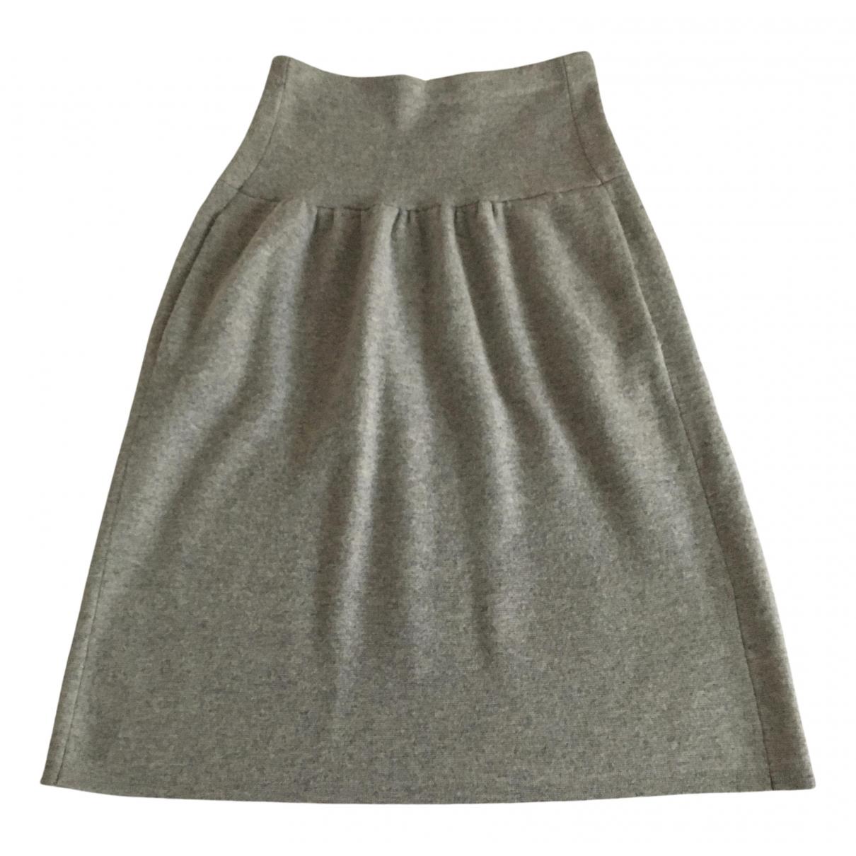 Joseph N Grey Wool skirt for Women M International