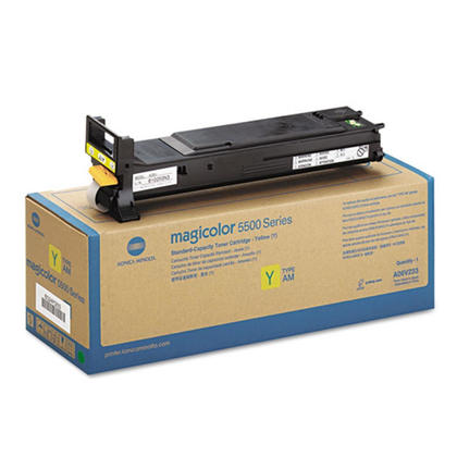 Konica-Minolta A06V233 Original Yellow Toner Cartridge