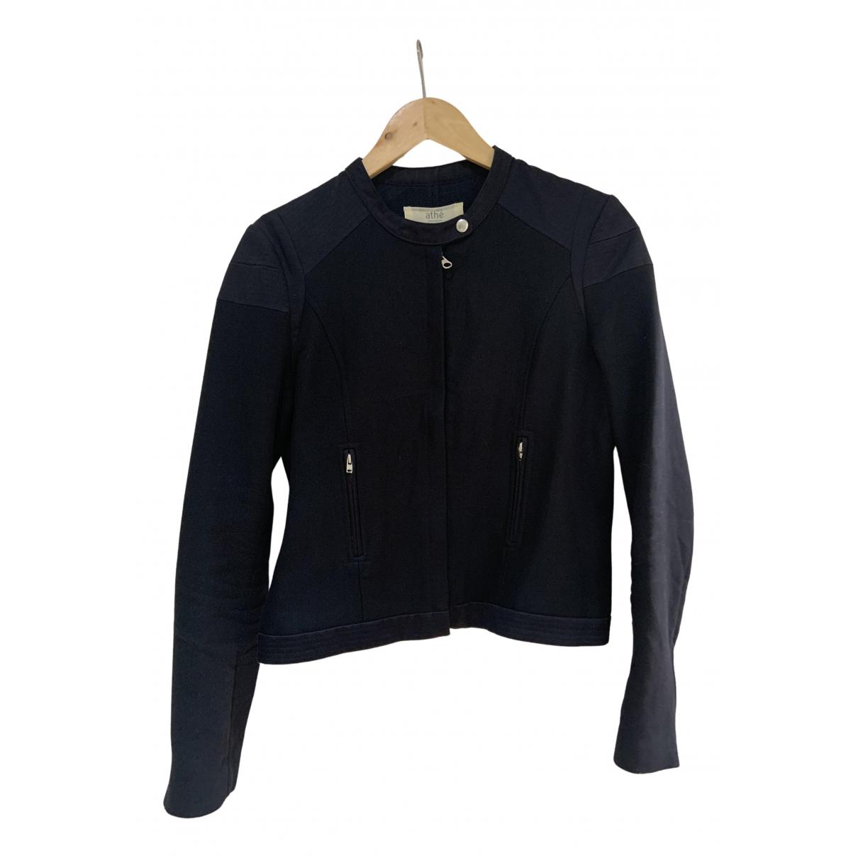 Vanessa Bruno Athe \N Navy Cotton jacket for Women 40 FR