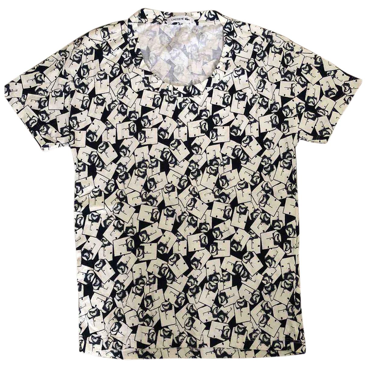 Lacoste - Top   pour femme en coton