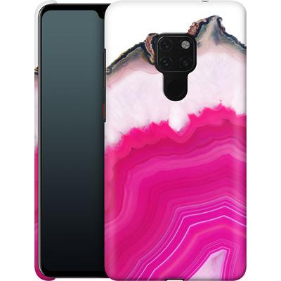 Huawei Mate 20 Smartphone Huelle - Pink Agate Slice von Emanuela Carratoni