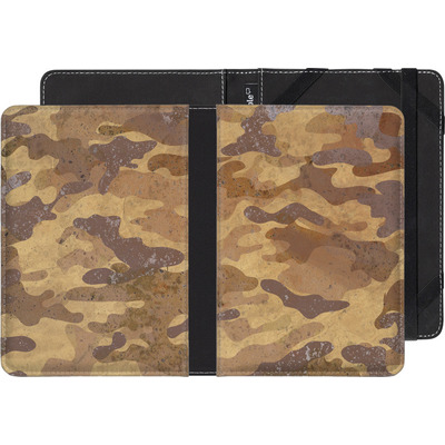 PocketBook Touch 622 eBook Reader Huelle - Camo Bark von caseable Designs