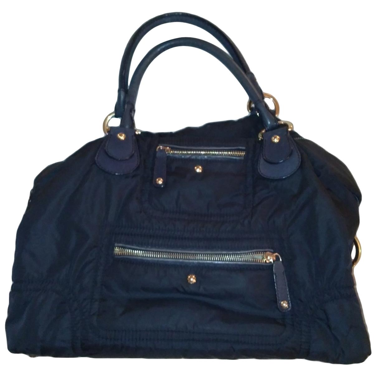Tods \N Handtasche in  Blau Leinen