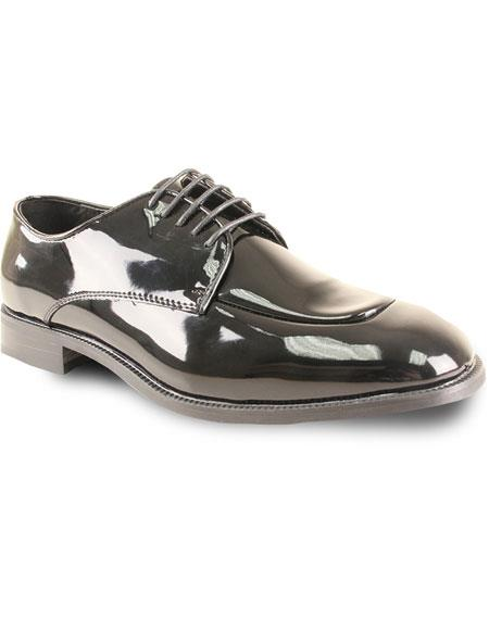 Men's Oxford Formal Tuxedo Black Wedding Lace Up Dress Shoe
