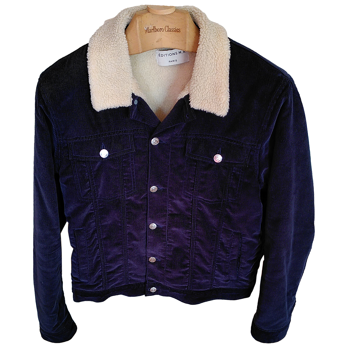 Editions M.r \N Blue Cotton jacket  for Men 50 FR