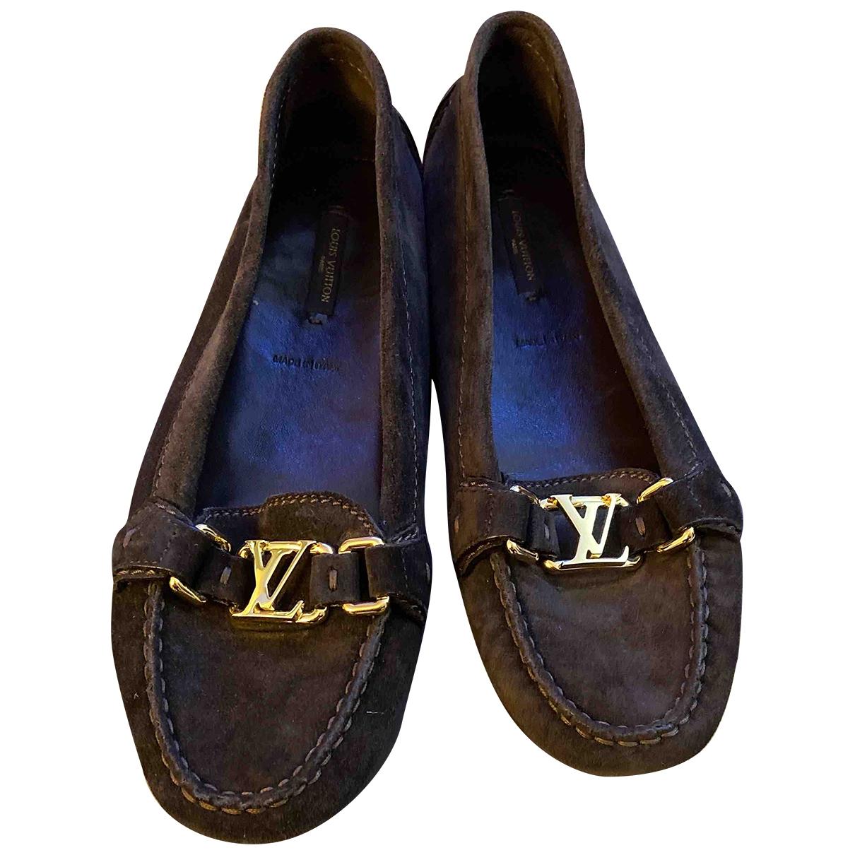Mocasines de Terciopelo Louis Vuitton