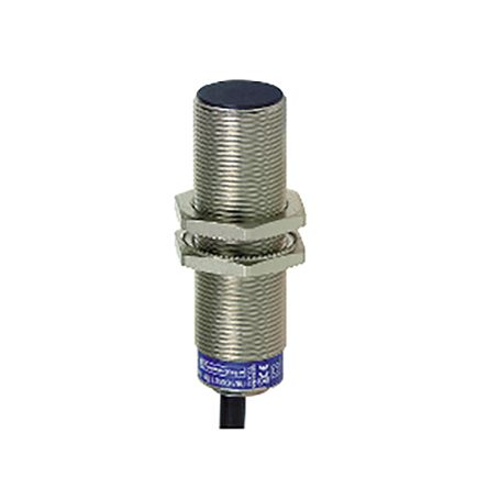 Telemecanique Sensors M18 x 1 Inductive Sensor - Barrel, NO Output, 5 mm Detection, IP68, IP69K, Cable Terminal