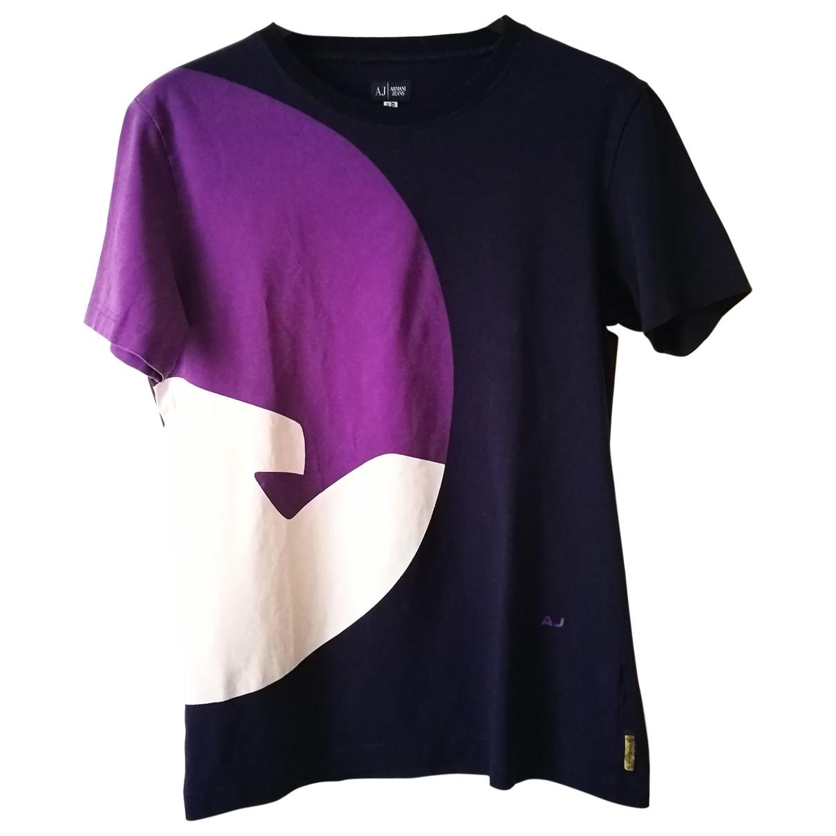 Armani Jeans \N Blue Cotton T-shirts for Men XL International