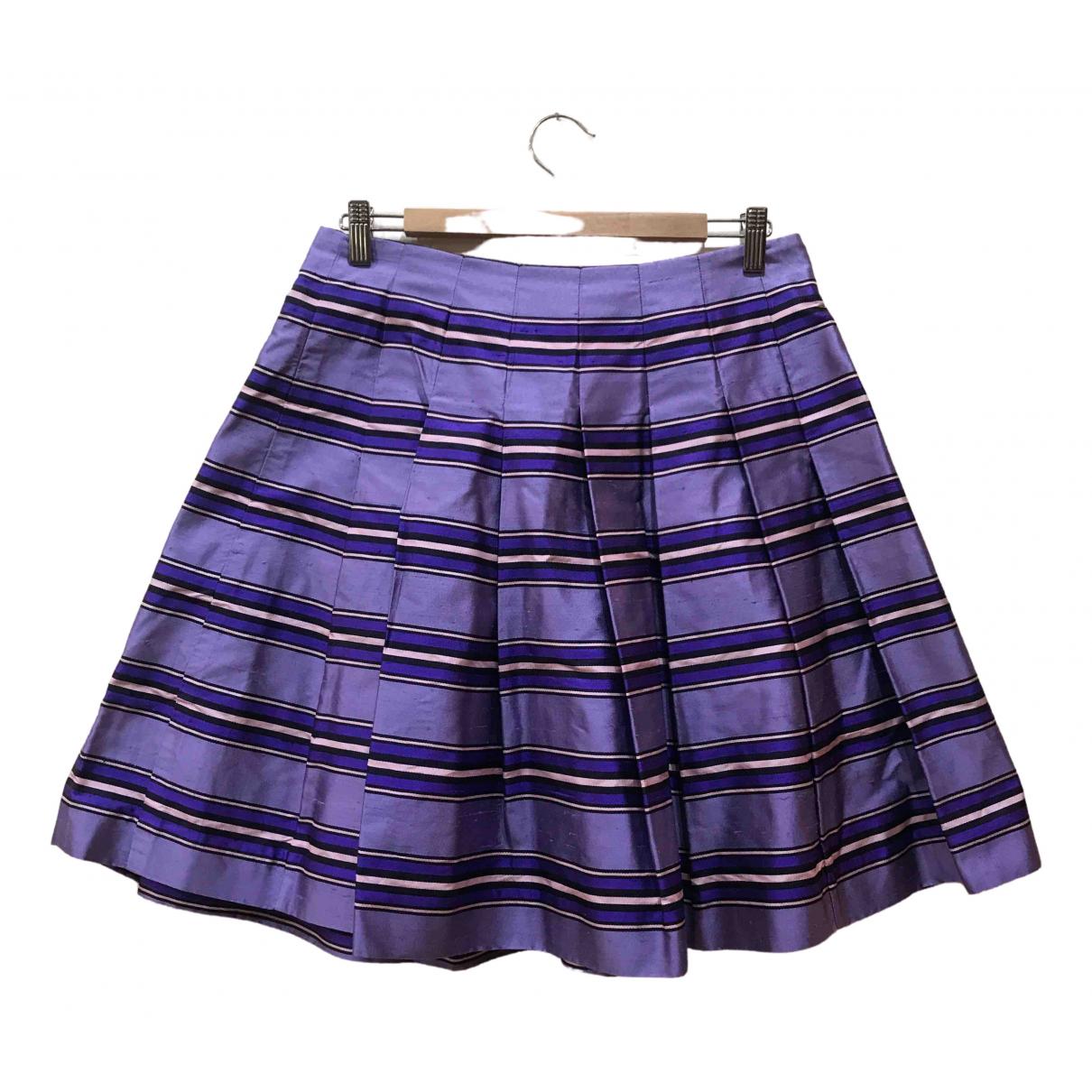 Mini falda de Seda Celine