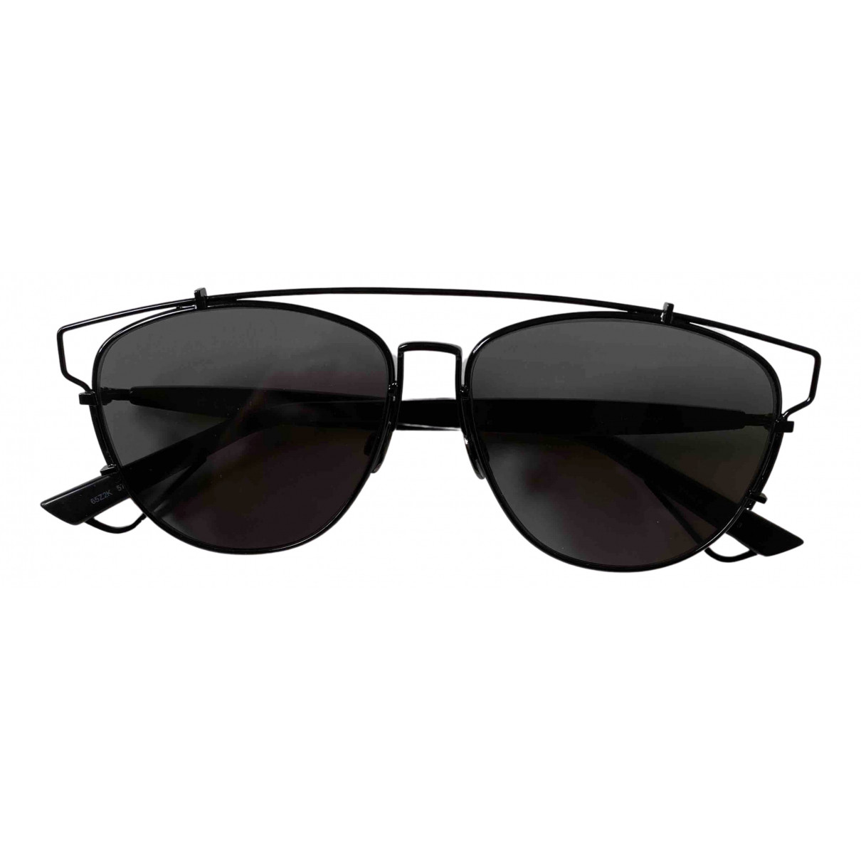 Dior Technologic Black Metal Sunglasses for Women N