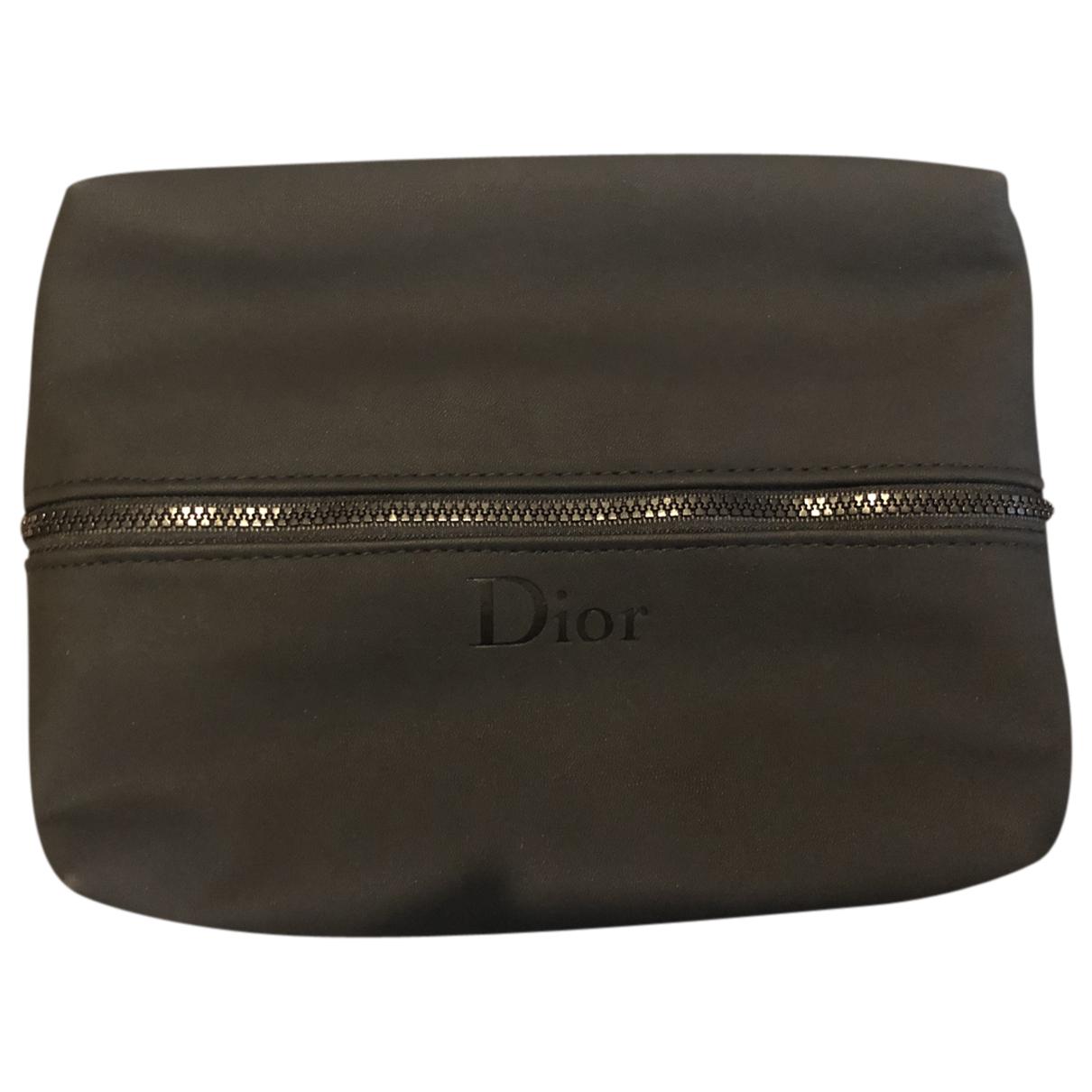 Dior - Petite maroquinerie   pour homme en velours - noir