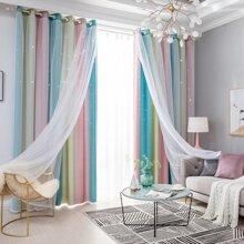Zweireihiger Vorhang