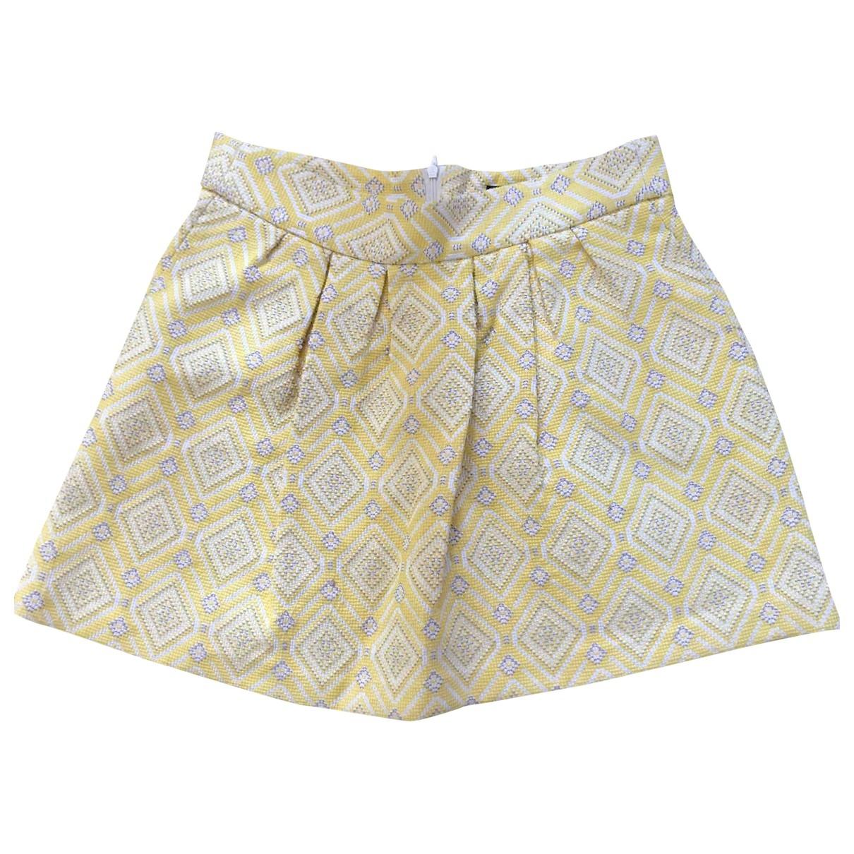Zara \N Rocke in  Gelb Polyester