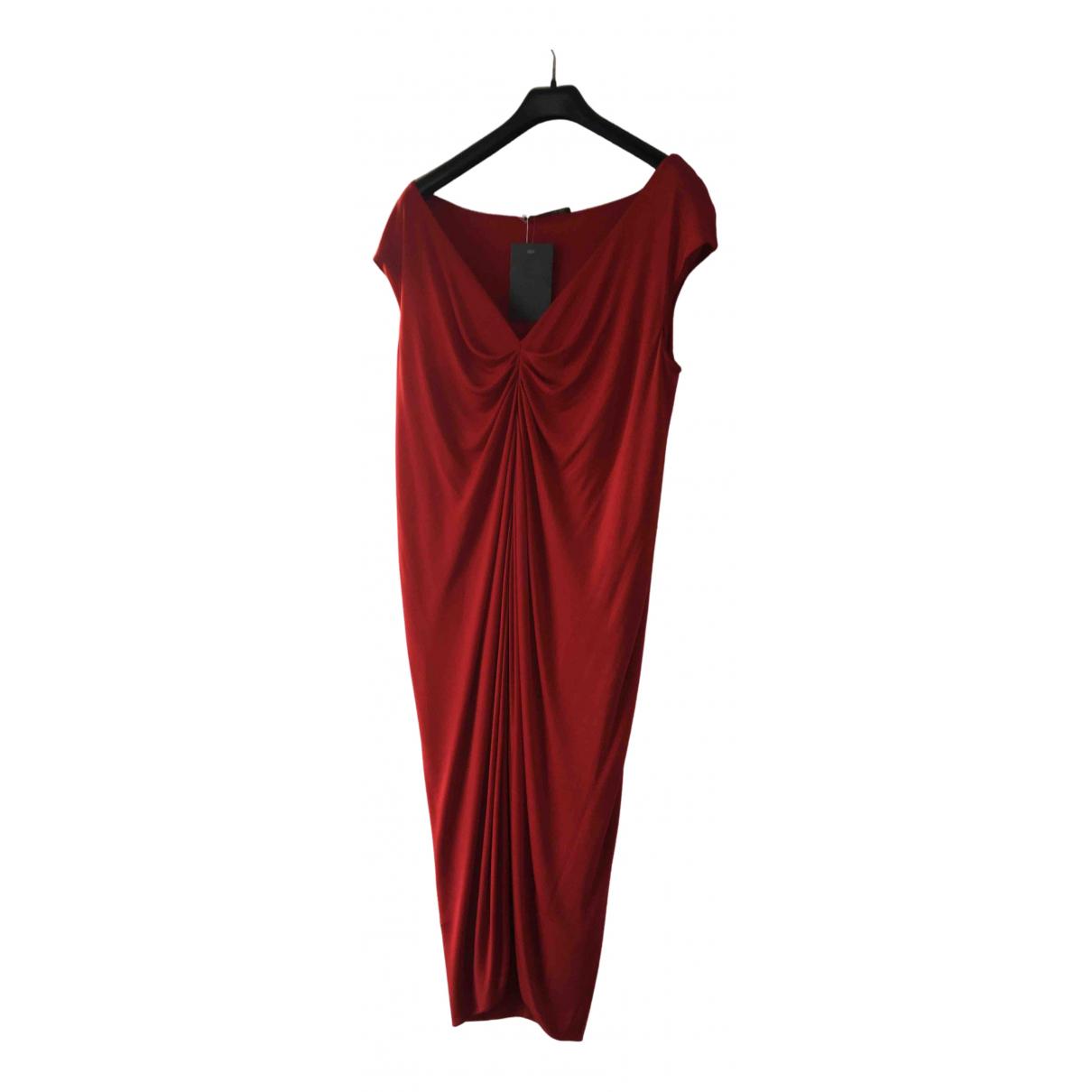 Alexander Mcqueen N Red dress for Women 44 FR