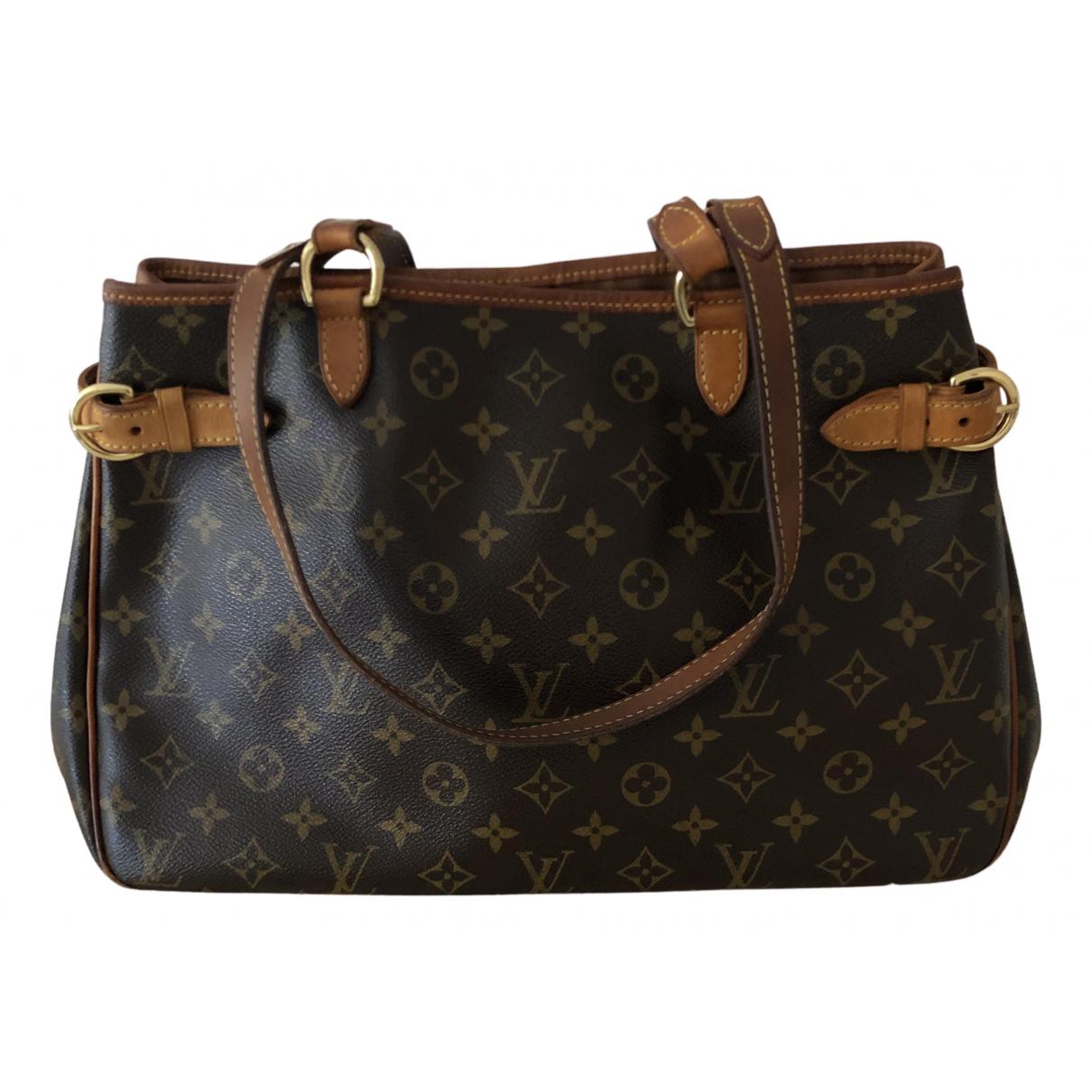 Louis Vuitton - Sac a main Batignolles pour femme en toile - marron