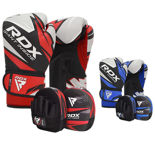 RDX J11 Kinder 6oz Boxhandschuhe and Boxpratzen Set
