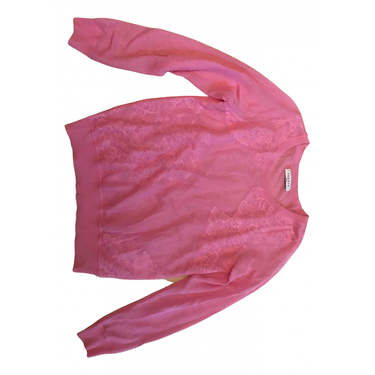 Top en Viscosa Rosa Sandro
