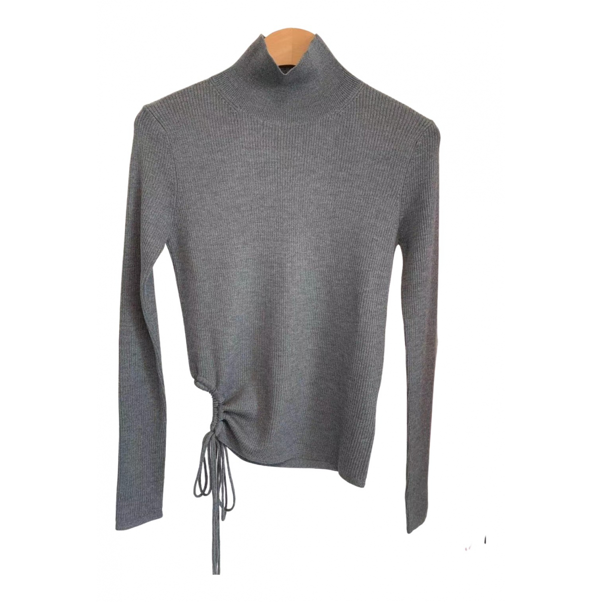 Alexander Wang N Grey Wool Knitwear for Women M International