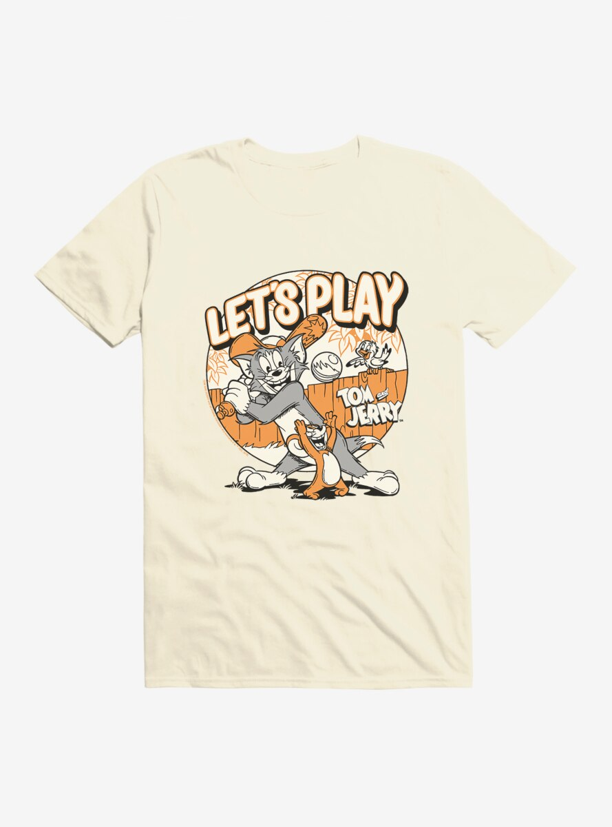 Tom And Jerry Let's Play Baseball T-Shirt