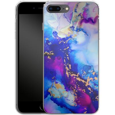 Apple iPhone 7 Plus Silikon Handyhuelle - Cosmic Swirl IV von Stella Lightheart