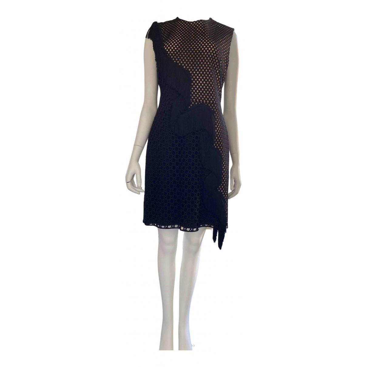 Stella Mccartney \N Kleid in  Schwarz Seide
