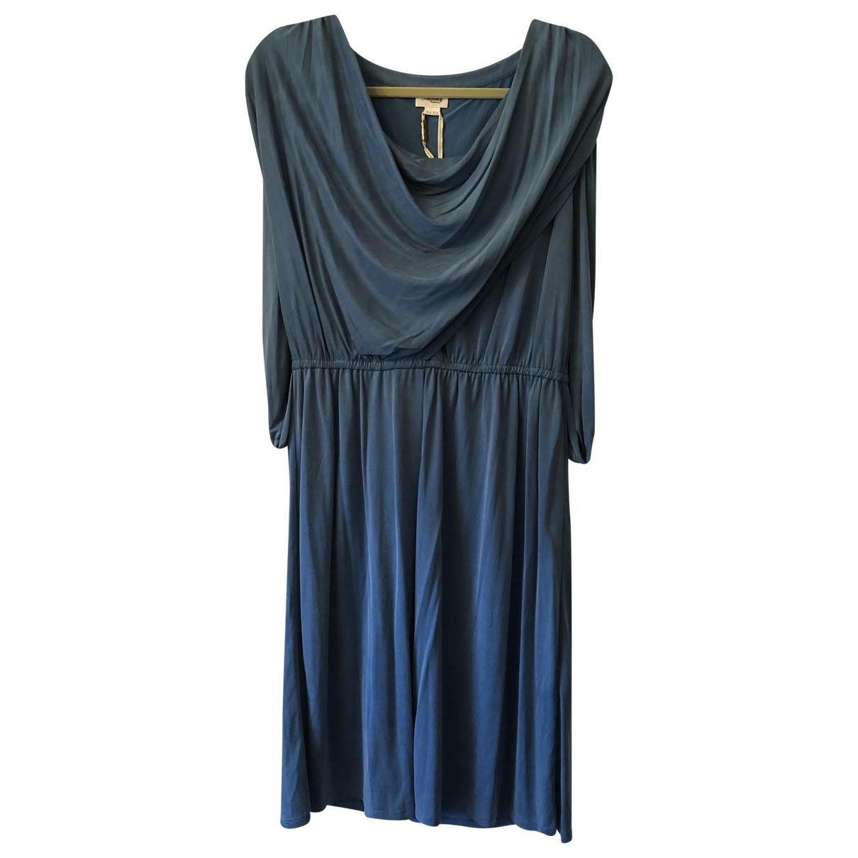 Temperley London \N Kleid in  Blau Polyester