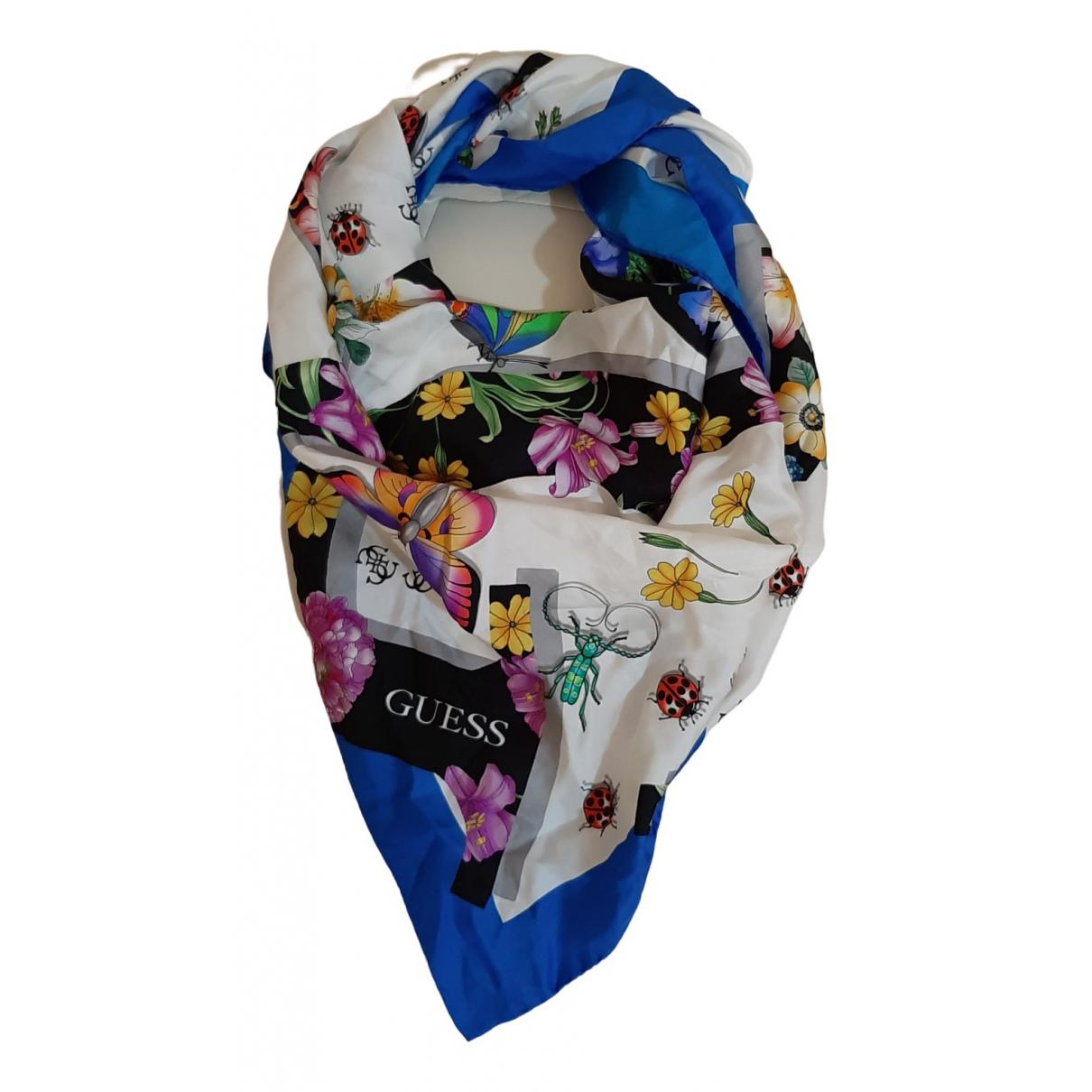 Guess \N Multicolour Silk scarf for Women \N