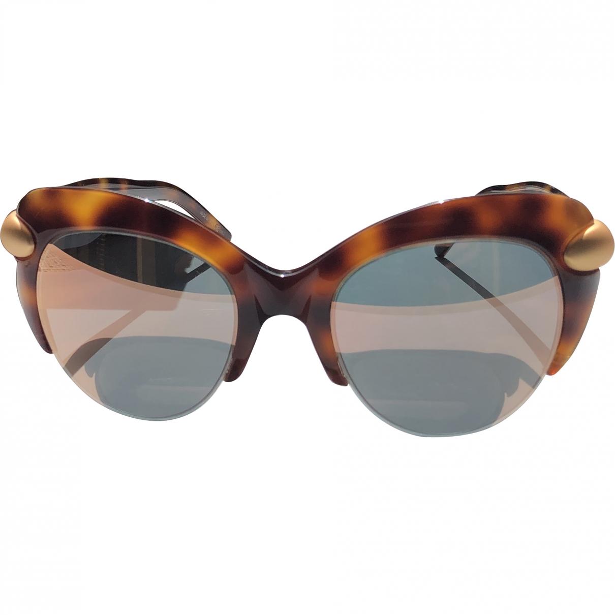 Pomellato \N Sonnenbrillen in  Braun Kunststoff