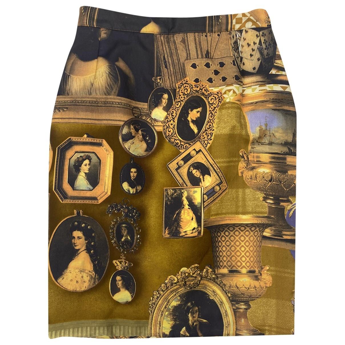 Falda midi de Seda Byblos