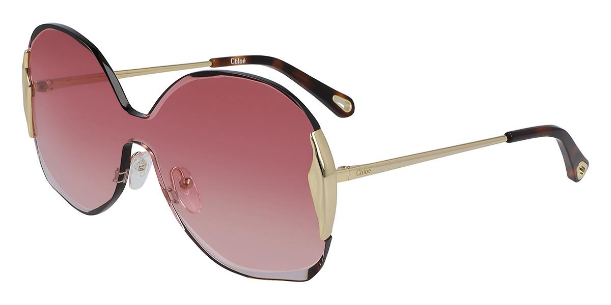 Chloe CE 162S 850 Women's Sunglasses Gold Size 59