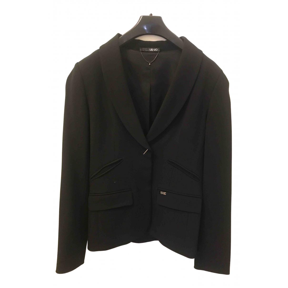 Liu.jo - Veste   pour femme en laine - noir
