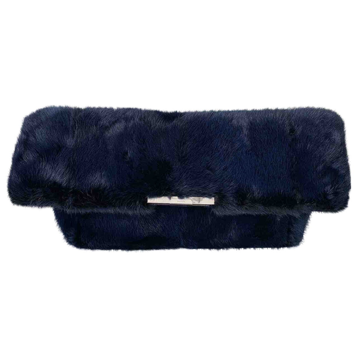 Celine \N Blue Mink Clutch bag for Women \N