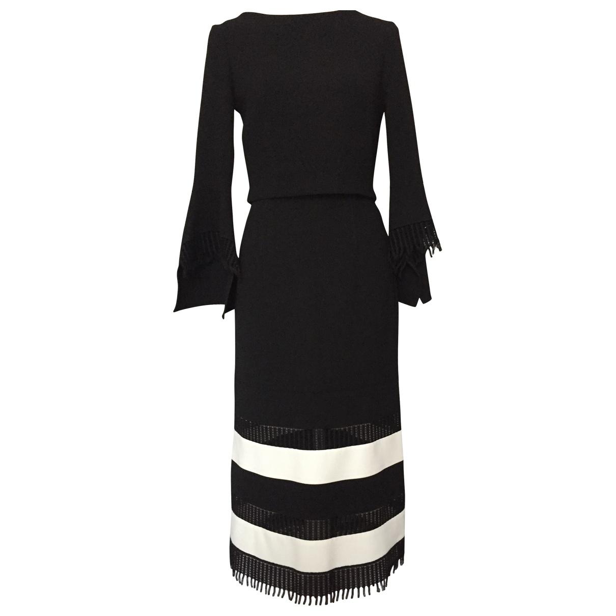 Roland Mouret \N Black Wool dress for Women 36 FR