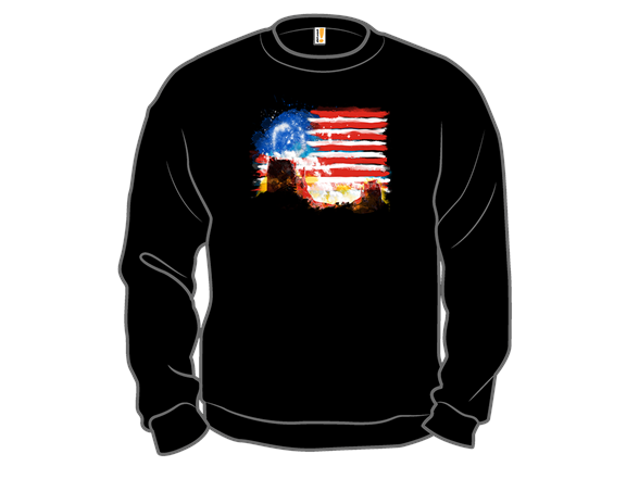 American Sunrise T Shirt