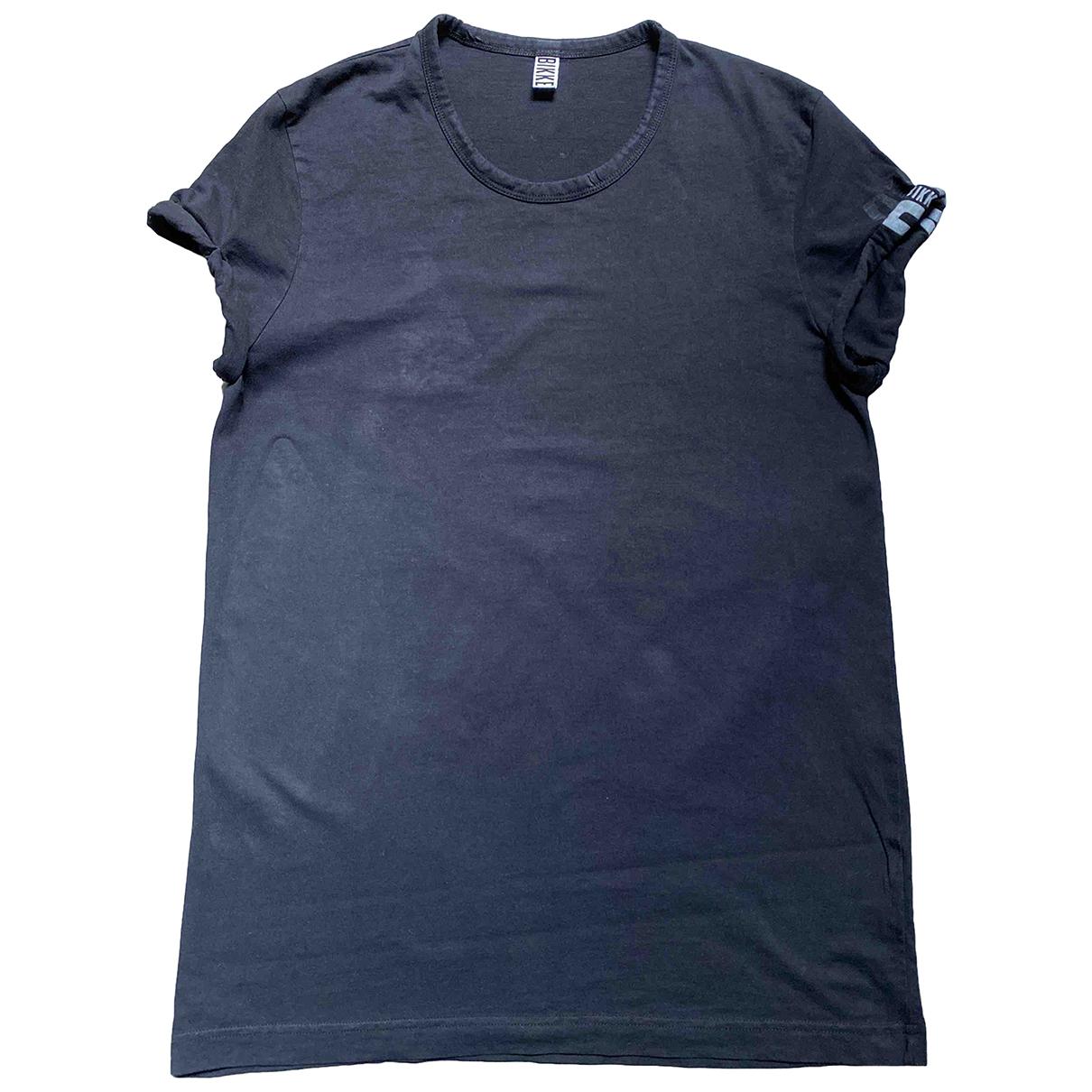 Dirk Bikkembergs - Tee shirts   pour homme en coton - noir