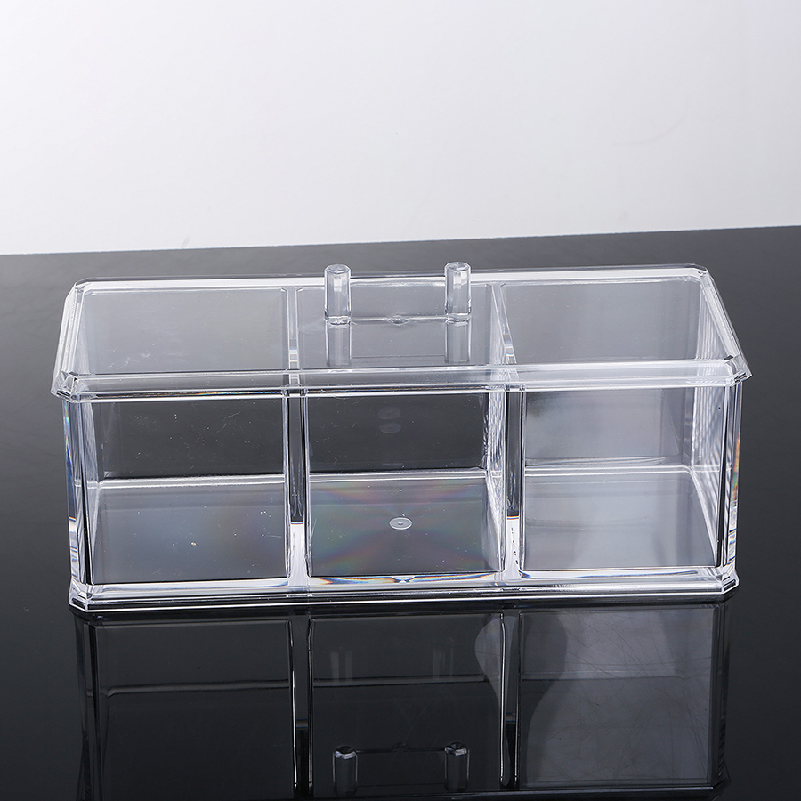 22.5*9.1*10.2cm Environment Friendly Acrylic Material Cosmetic Storage Box