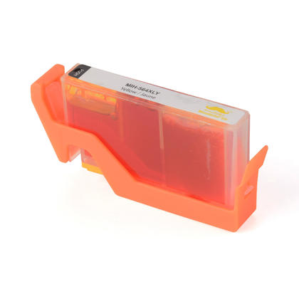 Compatible HP 564XL CB325WN cartouche d'encre jaune haute capacité - Moustache®
