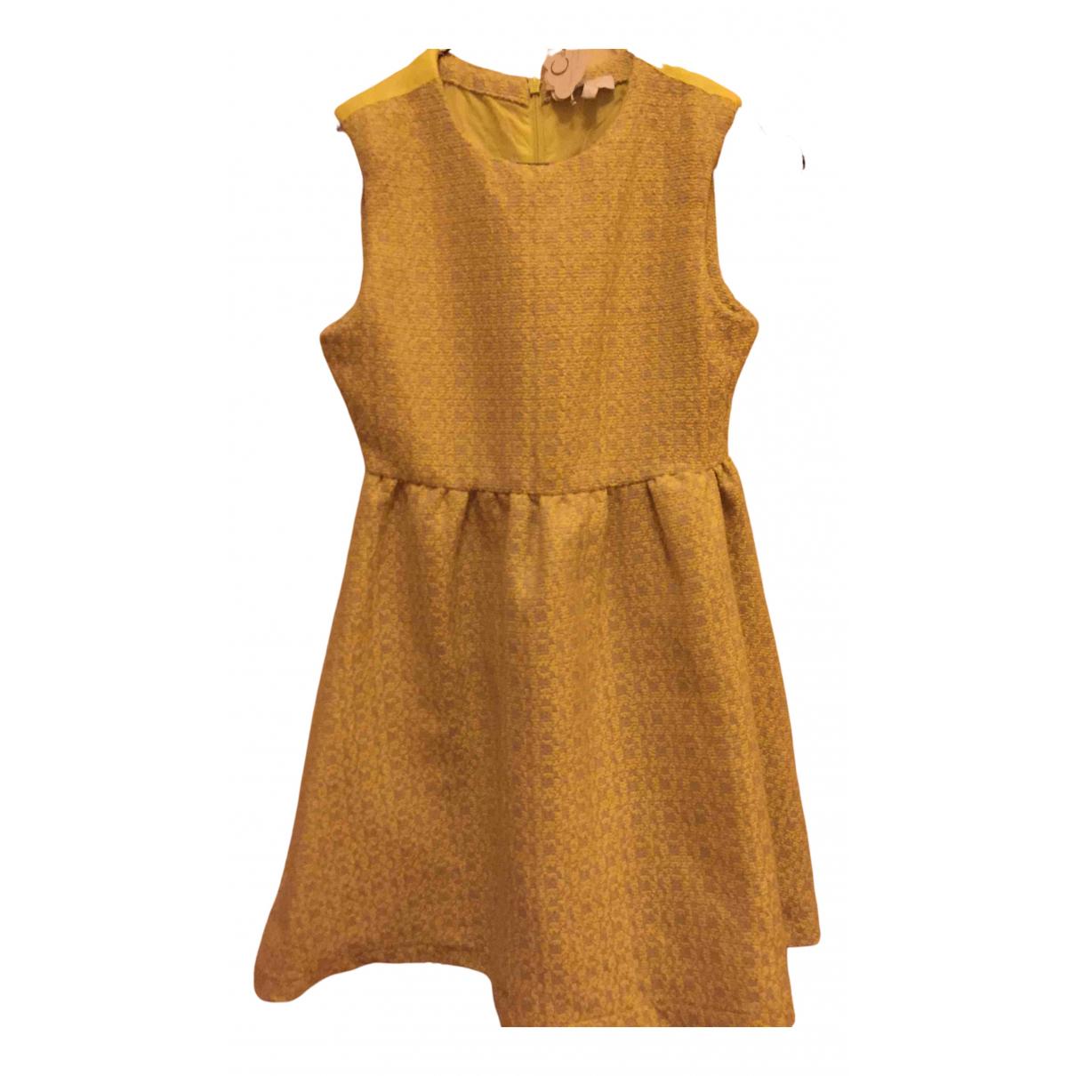 Cordelia De Castellane N Yellow Cotton dress for Kids 12 years - XS FR