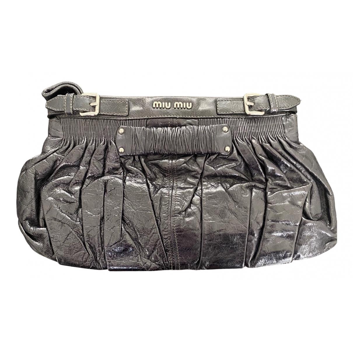 Miu Miu Matelassé Blue Leather handbag for Women \N