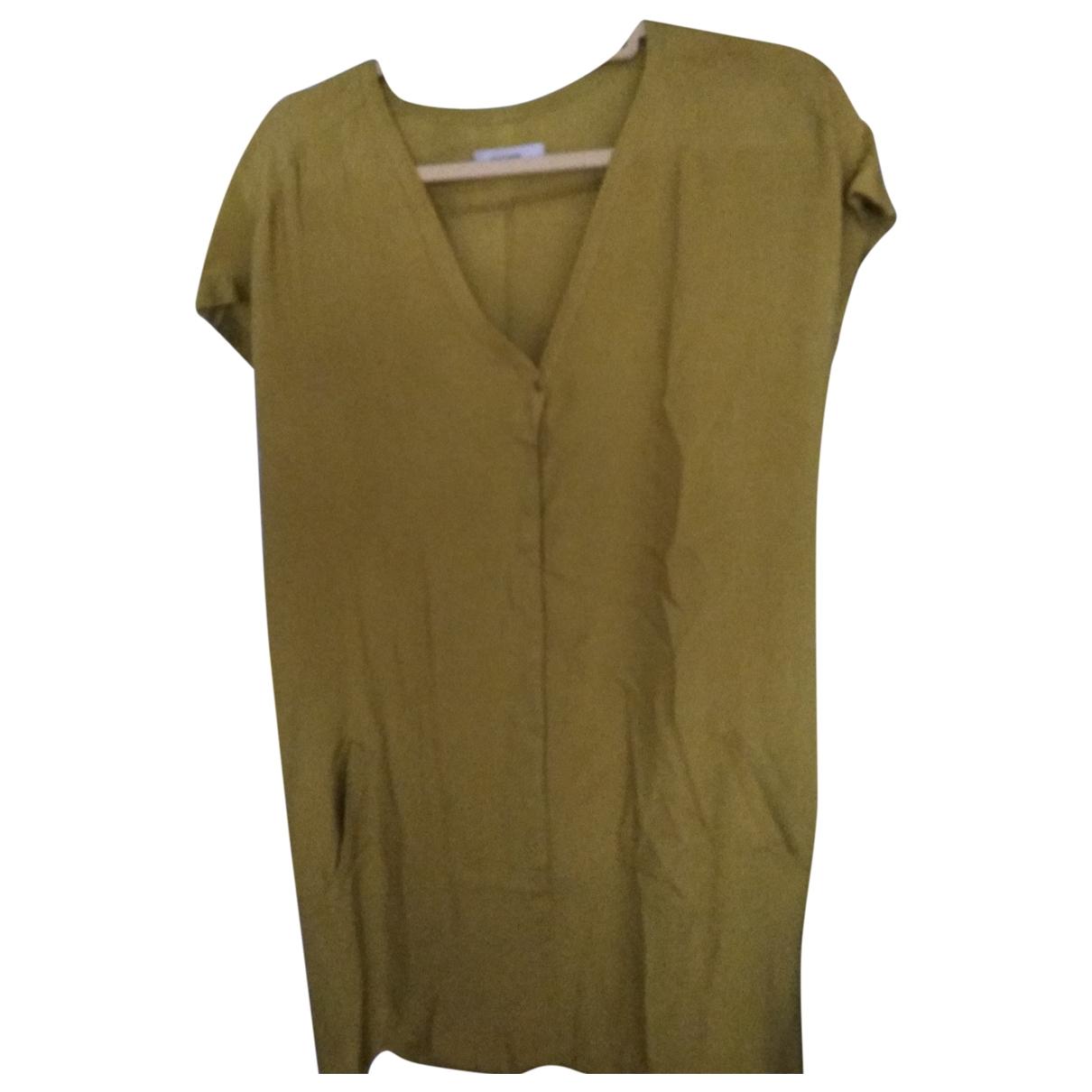 Humanoid \N Kleid in  Gelb Viskose